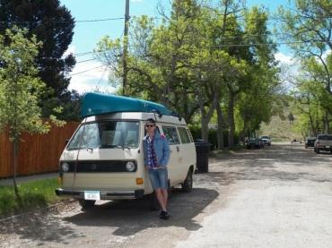 Charlie's bus, Helena, Montana